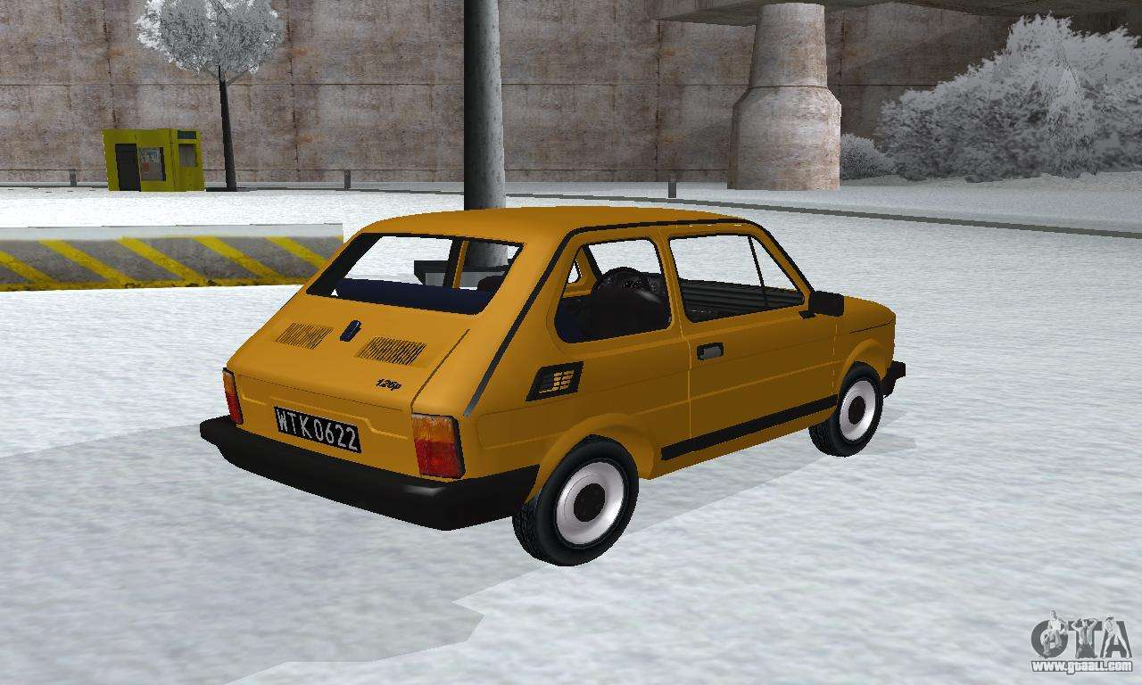 fiat 126p fl for gta san andreas fiat 126p fl for gta san andreas
