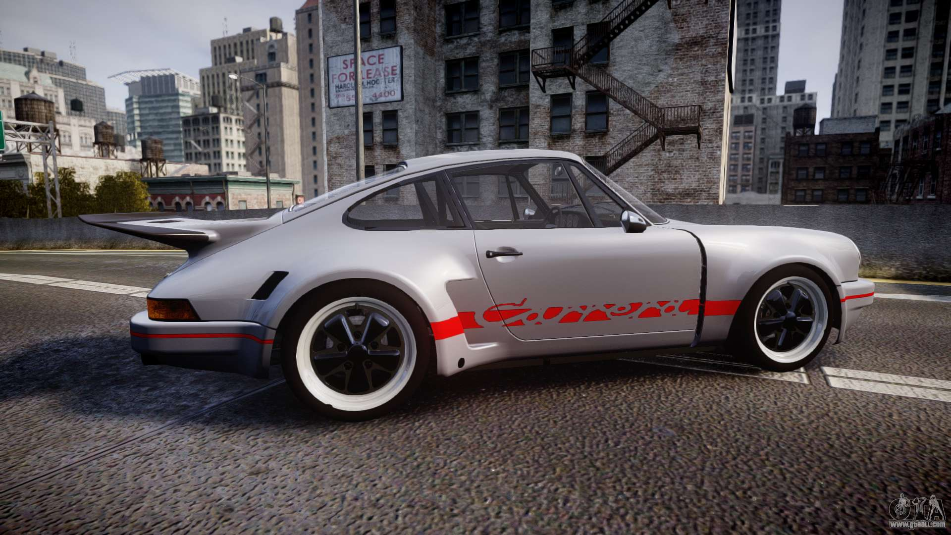 Porsche 911 Carrera Rsr 3 0 1974 For Gta 4
