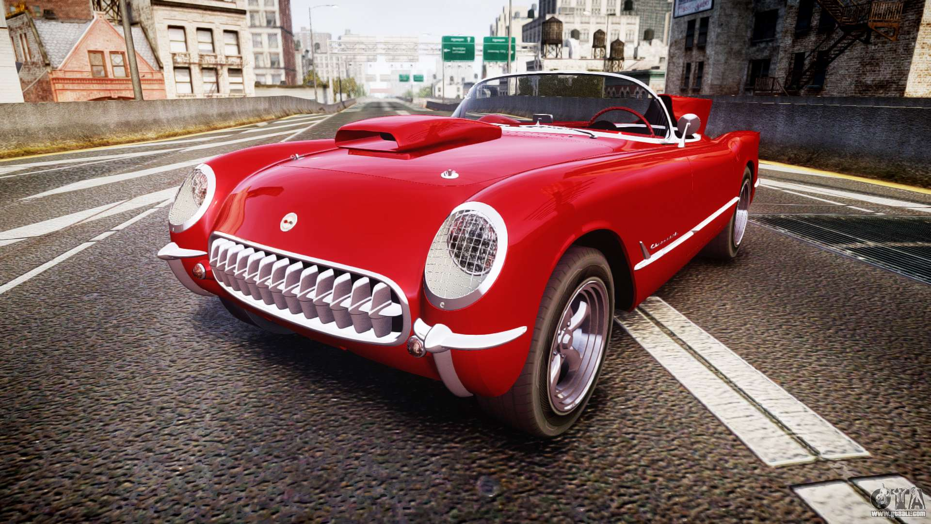 Chevrolet Corvette C1 1953 race for GTA 4