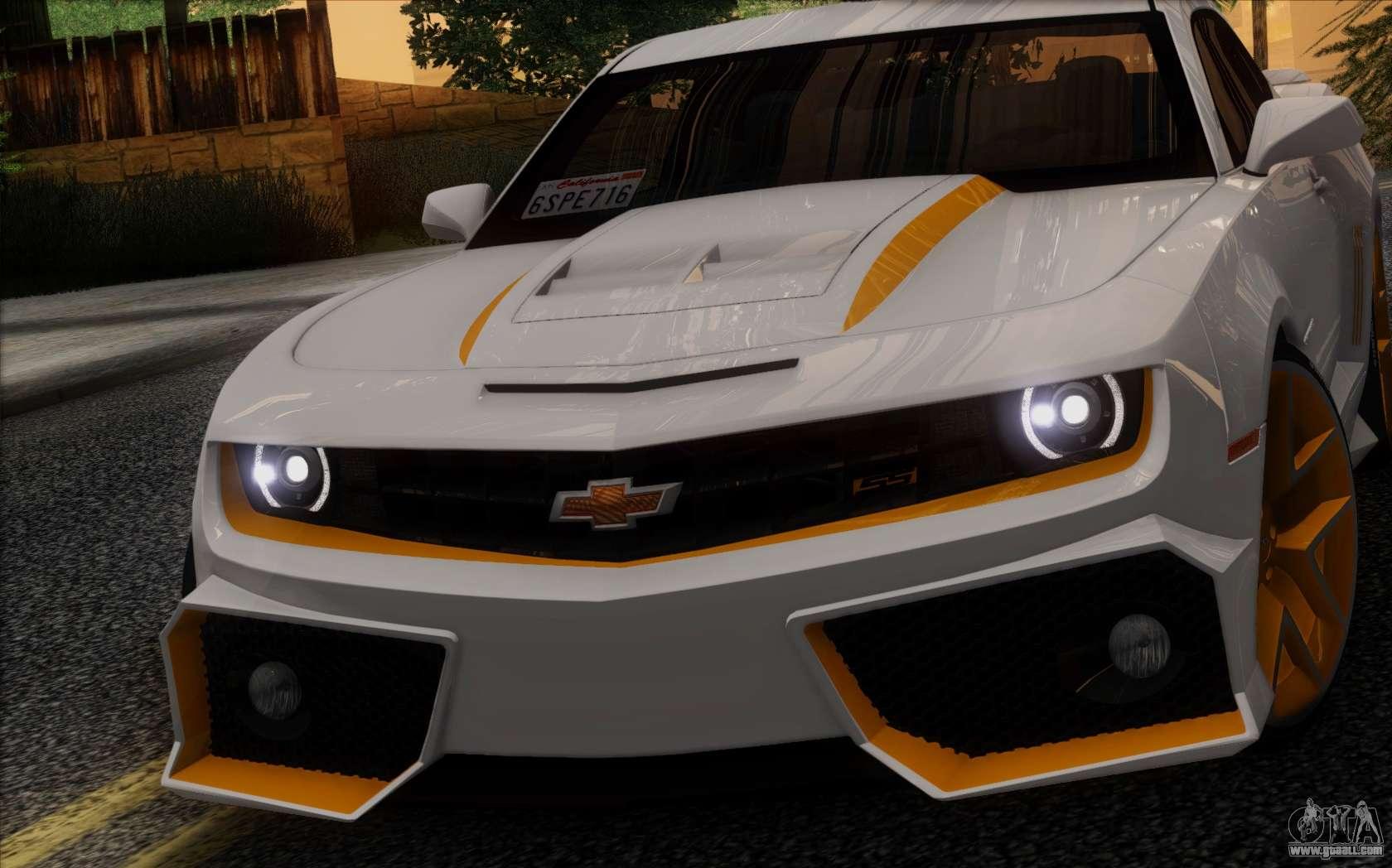 Chevrolet Camaro Vr Ivf For Gta San Andreas