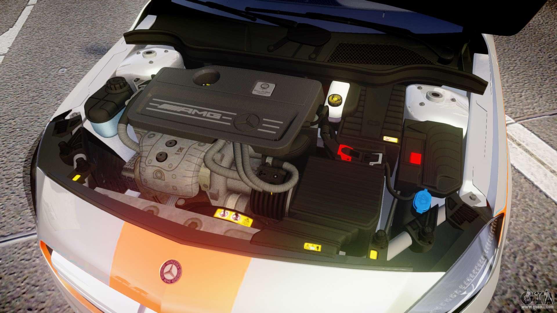 Mersedes Benz A45 Amg Pjs3 For Gta 4