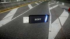 USB flash drive Sony blue for GTA 4