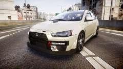 Mitsubishi Lancer Evolution X FQ400