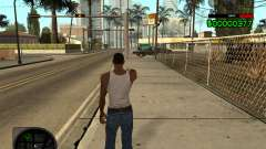 C-HUD by Radion for GTA San Andreas