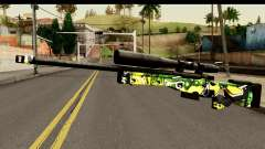 Grafiti Sniper Rifle for GTA San Andreas