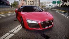 Audi R8 E-Tron 2014 dual tone for GTA 4