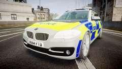 BMW 525d F11 2014 Metropolitan Police [ELS]
