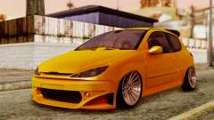 Peugeot 206 Camber Style for GTA San Andreas