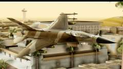 F-16 Fighter-Bomber Desert Camo for GTA San Andreas