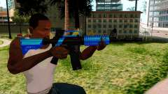 M4 Blue for GTA San Andreas