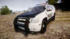 Chevrolet Tahoe 2010 Sheriff Dukes [ELS] for GTA 4
