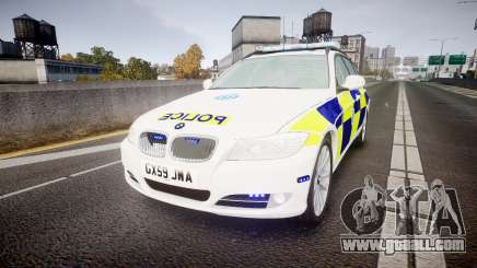 BMW 325d E91 2009 Sussex Police [ELS] for GTA 4
