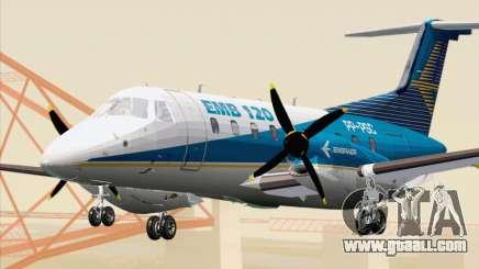 Embraer EMB 120 Brasilia Embraer Livery for GTA San Andreas