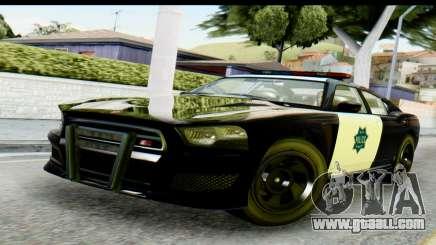 GTA 5 Buffalo S Police SF for GTA San Andreas