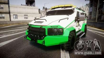 Gruppe6 Van [ELS] for GTA 4