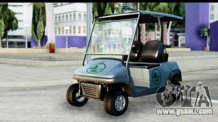 GTA 5 Caddy v2 for GTA San Andreas
