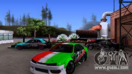 Nissan 200SX Elite Gas for GTA San Andreas