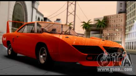 Plymouth Roadrunner Superbird RM23 1970 HQLM for GTA San Andreas