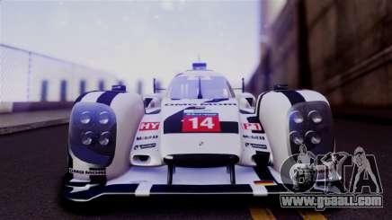 Porsche 919 Hybrid 2014 for GTA San Andreas