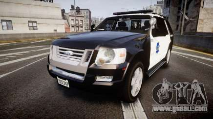 Ford Explorer 2008 LCPD [ELS] for GTA 4