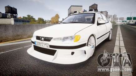 Peugeot 406 Taxi [Final] for GTA 4