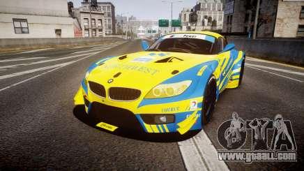 BMW Z4 GT3 2012 Northwest for GTA 4
