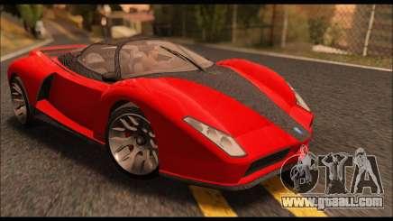 Grotti Cheetah v3 (GTA V) for GTA San Andreas