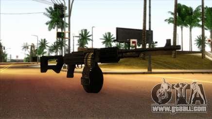 RPK from Kuma War for GTA San Andreas