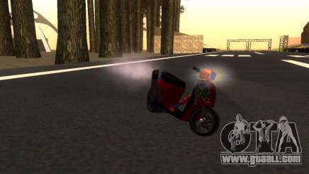 Faggio Stunt for GTA San Andreas