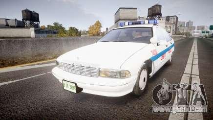 Chevrolet Caprice Liberty Police [ELS] for GTA 4