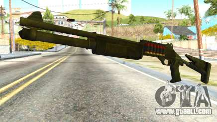 Shotgun from Global Ops: Commando Libya for GTA San Andreas