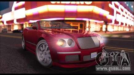 Enus Cognoscenti Cabrio (GTA V) for GTA San Andreas