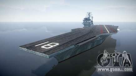 USS Flysenhower for GTA 4
