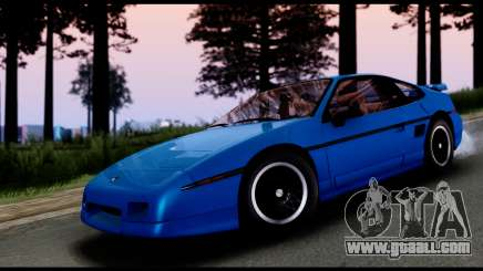 Pontiac Fiero GT G97 1985 IVF for GTA San Andreas