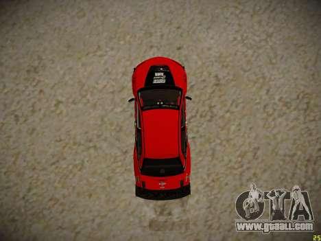 Mitsubishi Lancer Tokyo Drift for GTA San Andreas back view