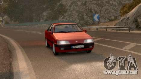 Daewoo Espero 1.5 GLX 1996 for GTA 4 right view
