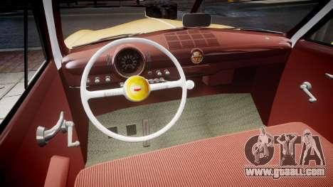 Ford Business 1949 v2.1 for GTA 4 inner view