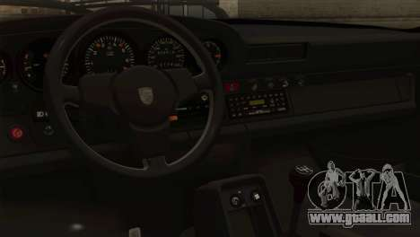 Porsche 911 Turbo 3.3L Coupe (930) 1981 for GTA San Andreas back left view