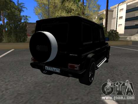 Mercedes-Benz G63 AMG for GTA San Andreas right view