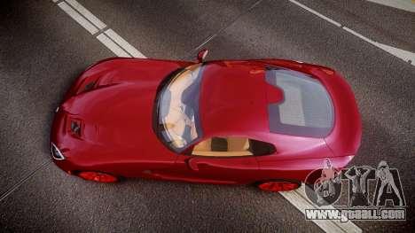 Dodge Viper SRT 2013 rims1 for GTA 4 right view