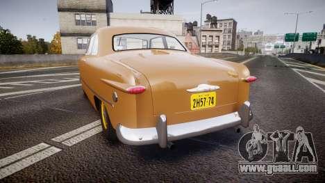 Ford Business 1949 v2.1 for GTA 4 back left view