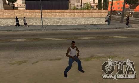 Dance for GTA San Andreas