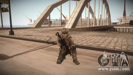 Animation of CoD MW3 for GTA San Andreas second screenshot