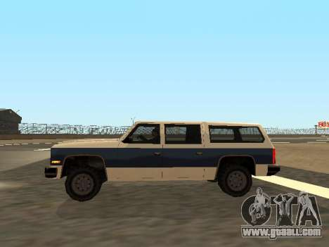 Rancher Four Door for GTA San Andreas side view