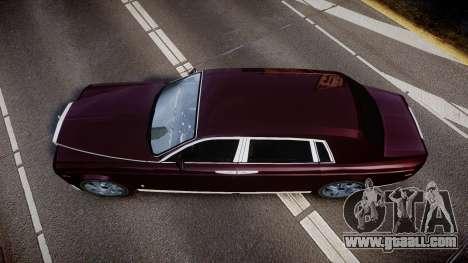 Rolls-Royce Phantom EWB v3.0 for GTA 4 right view