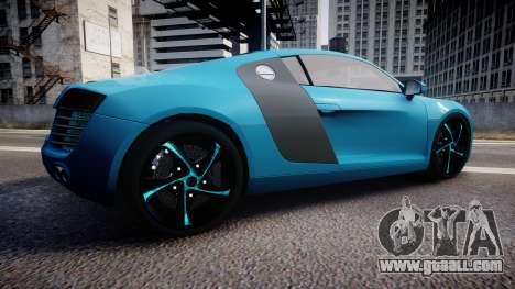Audi R8 Tron Legacy [EPM] for GTA 4 left view
