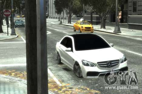 Mercedes-Benz E63 W212 AMG for GTA 4