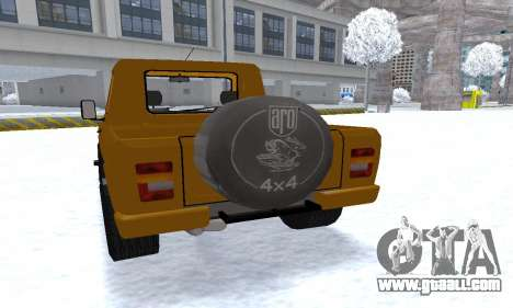 Aro 242 for GTA San Andreas wheels
