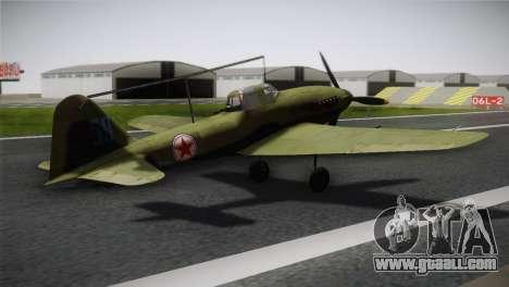 ИЛ-10 Korean Air Force for GTA San Andreas left view