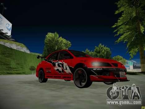 Mitsubishi Lancer Tokyo Drift for GTA San Andreas engine
